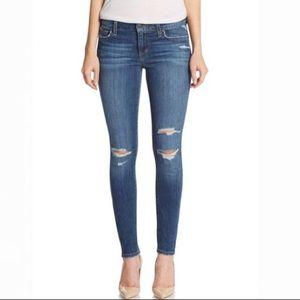 Joe's Jeans Distressed Skinny Ankle Jeans